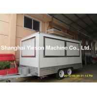 Cheap Portable Durable Commercial Kitchen Trailers Mobile Fast Food  Trailers for sale