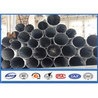 China Galvanized Substation Power Transmission Pole with Steel Q345 Gr50 Material on sale