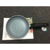 China Non-stick marble coating fry pan /made of forged aluminum/outer heat resistant painting on sale