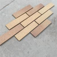 HM36413-7 Clay split bricks with rough face widely used for exterior wall decoration