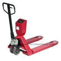 Cheap Hand Scissor Lift Pallet Truck with Foldable Hand Pallet Truck for Ware House for sale