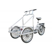 China Electric Cargo Tricycle with Cabin , Man-powered Ice Cream Tricycle on sale
