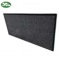 Cheap Honeycomb Activated Carbon Air Filter Aluminium Frame For Air Purification for sale