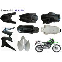 Cheap Kawasaki Klx250 Plastic Motorcycle Kits , Motorcycle Body Cover ABS Plastic Material for sale