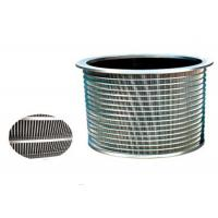 Cheap 380v Screening Purification Equipment Parts Pressure Screen Basket SS316 Mateiral for sale