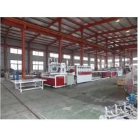 China Conical Twin Screw Wood Plastic Composite Machine/PVC Foam Board Extrusion Line on sale