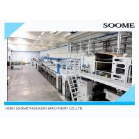 Cheap Corrugated Paper Sheets Cardboard Production Line Paper Corrugated Board And Box Making Machine for sale
