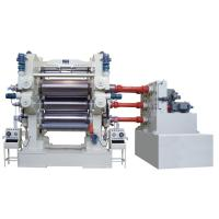Cheap Soft PVC Calender Machine use 4 Roll For Film Banner 1800mm - 4000mm Width wholesale