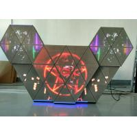 Buy cheap P5 full color led dj booth with multi screens adjustable brightness for bar club from wholesalers