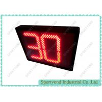 Cheap Water polo game electronic led 30 seconds shot clocks for sale