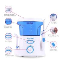 Cheap household oral care ultra mouse rinse water jet toothbrush with tongue cleaner wholesale