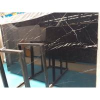 Cheap Large Nero Marquina Marble Slab,Black and White Marble Stone Floor Tiles for sale