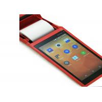 Programmable Handheld Pos With Printer For Retail Store / Restaurant Support Bluetooth Wifi