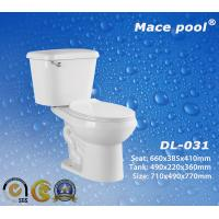 Cheap Bathroom Sanitary Wares Two Pieces Toilets Water Closet (DL-031) for sale