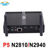 China Baytrail fanless Nuc mini pc barebone system with Dual HDMI USB 3.0 Intel Celeron N2810 BayTrail dual core 2.0Ghz CPU on sale