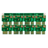1OZ 6 Layer custom printed circuit boards With Gold Plate Edge