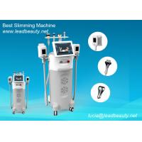 Cheap 12 inch LCD screen Beauty Fat Reduce Cryolipolysis Slimming Machine -15℃ cooling for sale