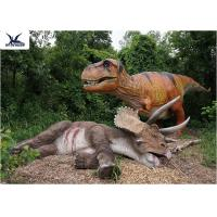 Buy cheap Playground Giant Realistic Dinosaur Sculpture For Amusement Park Exhibition from wholesalers