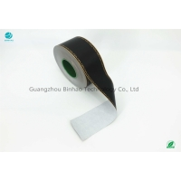 China Double black color coating 70mm size Tobacco Filter Paper Wrapping materials on sale