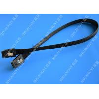 Cheap Computer Serial Attached SCSI SAS Cable SFF 8087 To SFF 8087 Tinned Cooper Conductor for sale