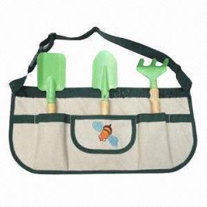 Cheap Garden Tool Set with 600D Polyester Handbag for sale