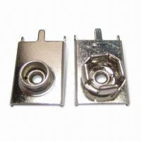 Cheap PC-type Battery Snap Terminals, Used for PP3 or 9V Cells for sale