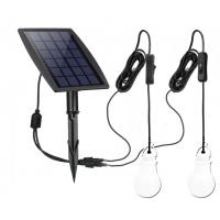 Cheap 70LM *2 Solar Powered Yard Lights Low Voltage With 3.7v /2200mah Lithium Battery for sale