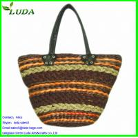 Cheap Reusable straw shopping bag for sale