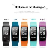 Buy cheap color heart rate smart bracelet motion tracking and detection of sleep, from wholesalers