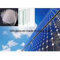 Cheap Solar Panel Glass Tempered / Crytal Solar Panel Glass for sale