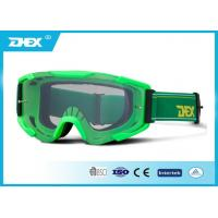 Cheap Green Anti - Wind Motorbike Goggles Adjustable Strap For Outdoor Sports for sale