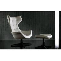 Cheap High Back Swan Office Chair , PU Leather Upholstered Arne Jacobsen Swan Chair for sale