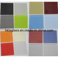 Cheap Painted Glass Table Top / Colorful Painted Glass (TX-0807) for sale