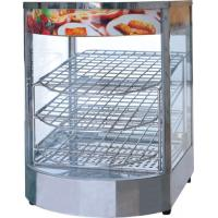 China 0.85KW Power Commercial Electric Pie Warmer Mini Countertop Heated Display Case on sale