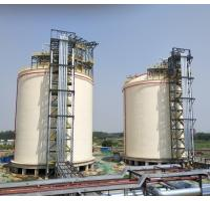 Liquid Gas Full Containment LNG Storage Tank 10000m3 Double Tank Designed