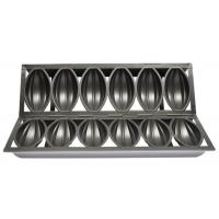 Cheap 6 Straps Bomb Mould Cake Baking Pan With Aluminium Coating , Non - Stick for sale