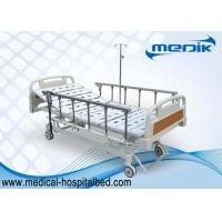 Quality Mobile Handicapped Electric Hospital Bed With Remote Handset Control wholesale