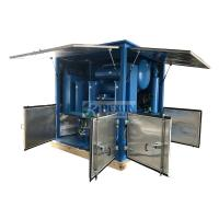 Buy cheap Fully Enclosed Type Substation Field Use Vacuum Electric Insulating Oil Purifier from wholesalers