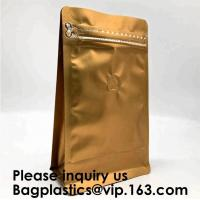 China Pack Packaging Reusable Aluminium Foil Zip Lock Stand Up Food Pouches Bags with Tear Notch for Food Storage, bagease on sale