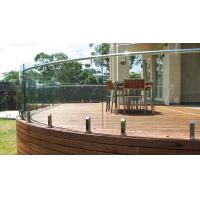 Quality Australia Standard Swimming Pool Stainless Steel Frameless Glass Balustrade with AS/NZS2208 wholesale