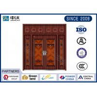 Cheap Guard Against Theft Fireproof Entry Doors With Door Viewer High Strength for sale