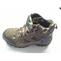 Cheap Navy Camouflage Heavy Duty Work Shoes With Air Mesh Lining for sale