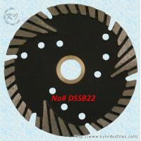 Diamond Multi-segment Turbo Saw Blade for Abrasive Materials and Stone - DSSB22