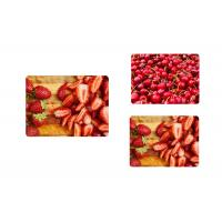 China Plastic Colorful 3d Printing Place Mat Lenticular Flip For Kitchen Table on sale