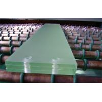 Buy cheap Tempered Laminated Safety Glass Light Green For Display Cabinet from wholesalers