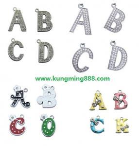 China DIY letter pendants,alphabet pendants,pendant letters,Dog collar pendants,wholesale letter pendants  on sale