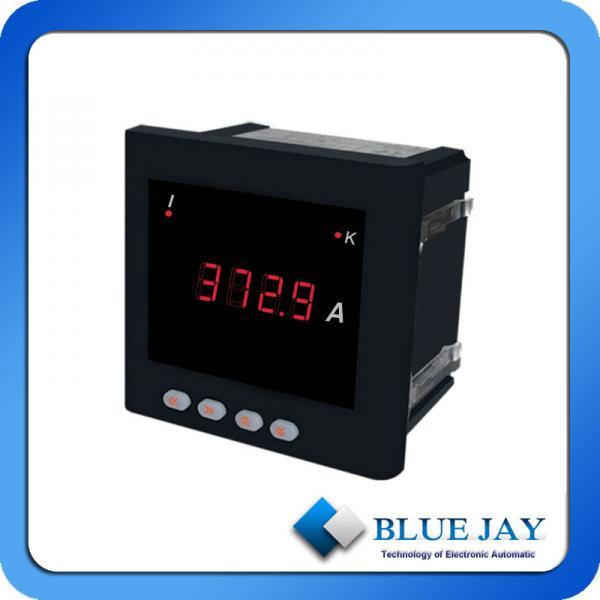 Electric Meter Panel : Led display smart meter ampere single phase current