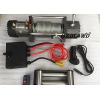 Cheap Off Road Handlebar Mini Winch Electric Automotive 12v 24v 8000lbs For ATV for sale