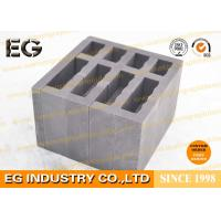 Buy cheap Sintered Extruded Press Custom Graphite Molds 65 Mpa Compressive Strength Glass from wholesalers