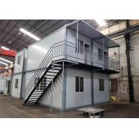 Cheap Environmental Friendly Prefabricated Shipping Container House For Labor Camp / Office / Workers Accommodation for sale